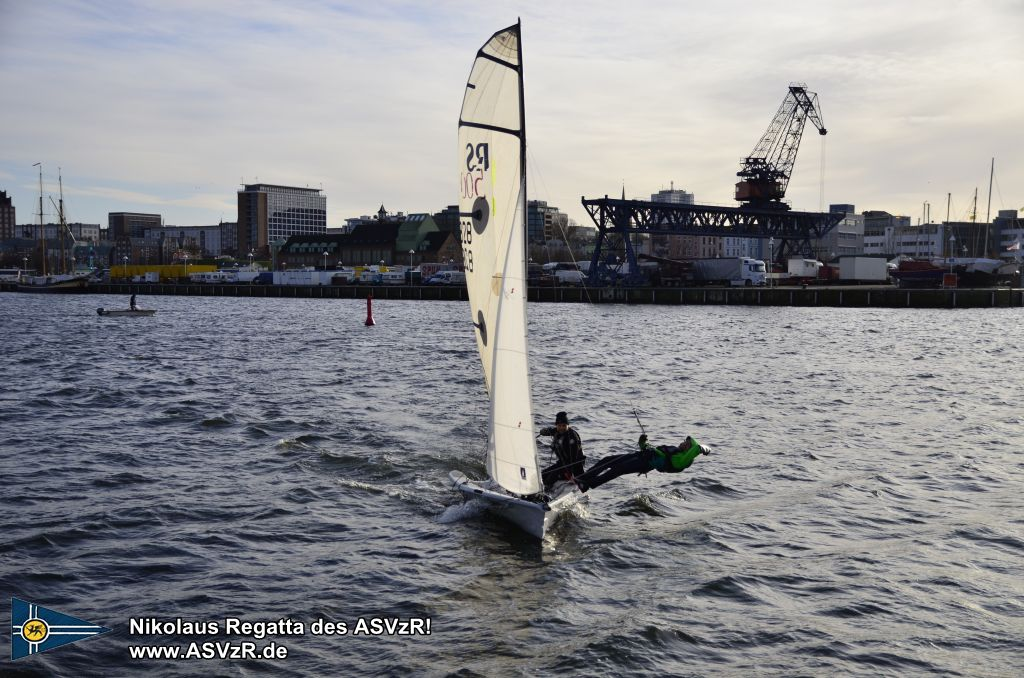 Nikolaus Regatta in Rostock 2019 - RS500