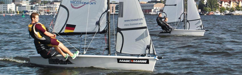 RS 500 segeln  in Rostock