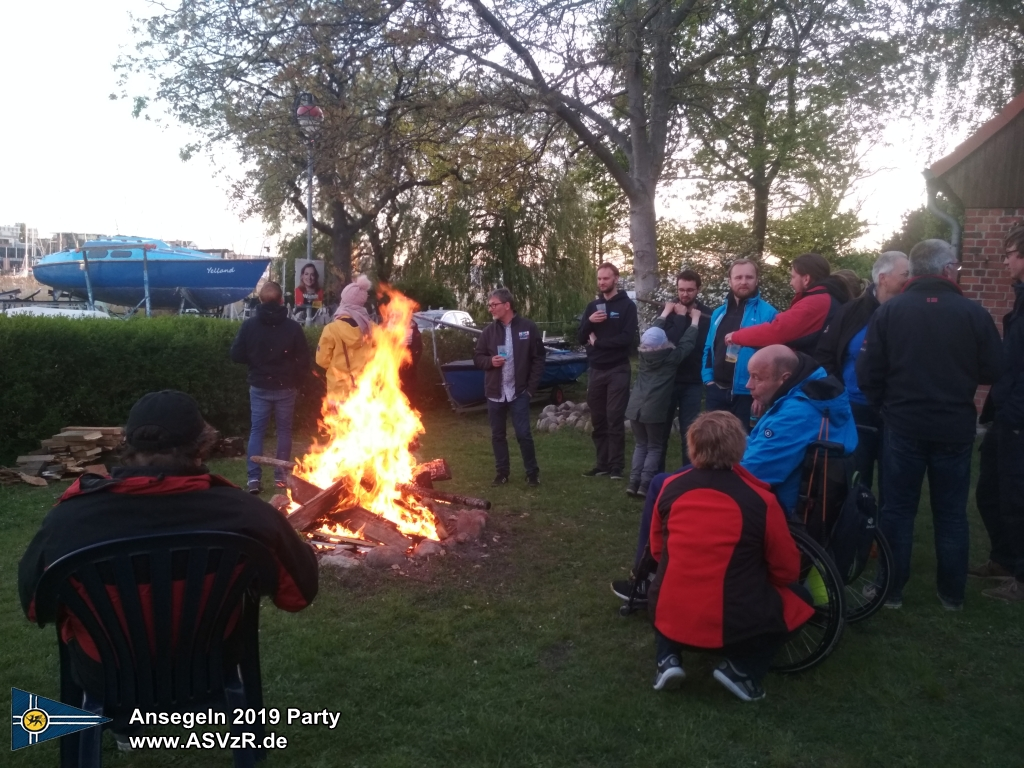 rostock ansegeln party 2019