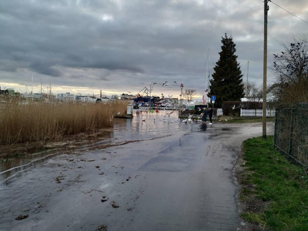 Rostock Hochwasser